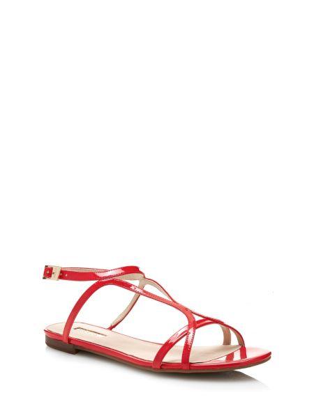 Sandale jalen effet verni