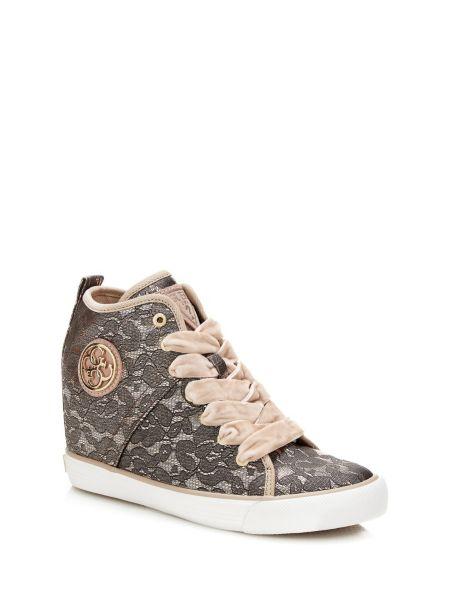 Sneaker Alta Jilly Pizzo