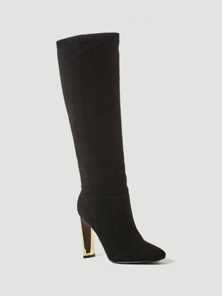 Stiefel Kice Velours | Schuhe > Stiefel | Schwarz | Guess
