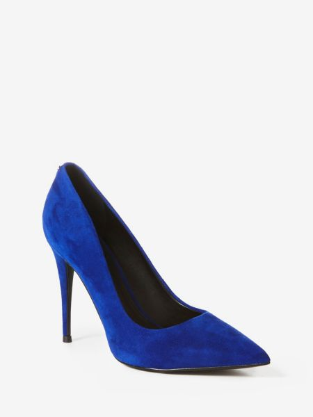 Pumps Oakley Velours | Schuhe > Pumps > Klassische Pumps | Blau | Guess
