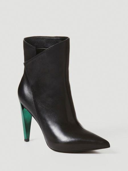 Stiefelette Opall Leder   Schuhe > Stiefeletten > Sonstige Stiefeletten   Schwarz   Guess