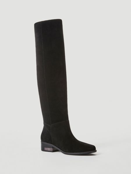 Stiefel Pavlina Velours | Schuhe > Stiefel | Schwarz | Guess