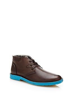 Sneaker HU1 en cuir