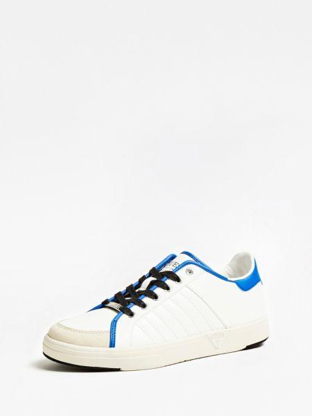 Sneaker College Cuir Veritable