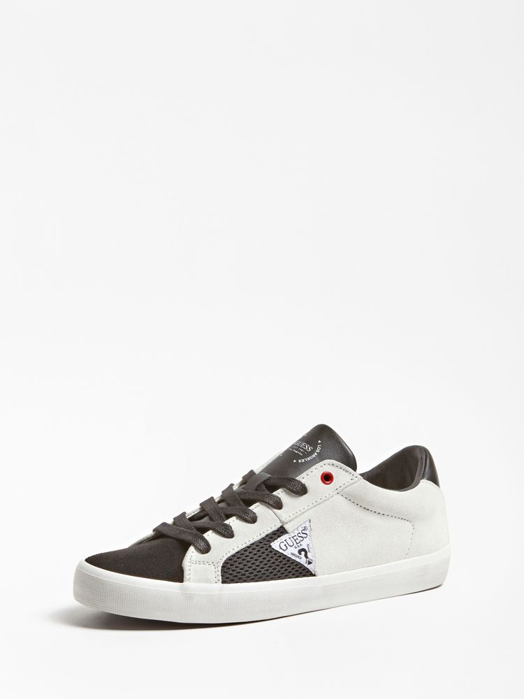 e6ac0d3b3b1b Guess Statement Real Suede Sneaker
