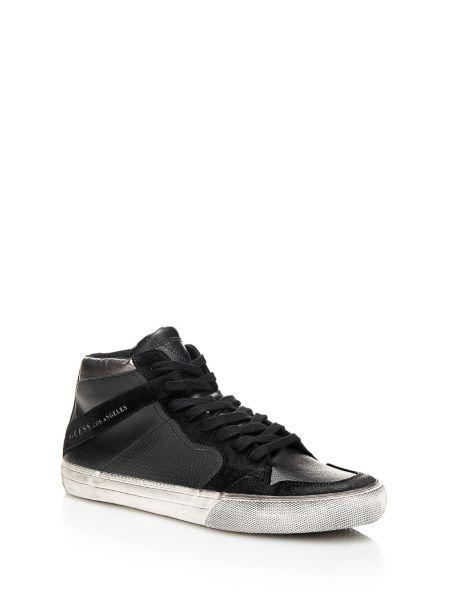 Sneaker montante rg8 en cuir