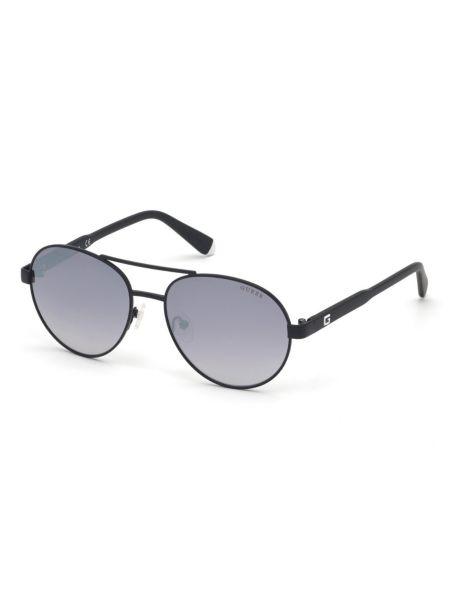Pilotensonnenbrille | Accessoires > Sonnenbrillen > Pilotenbrille | Schwarz | Metall - Gummi | Guess