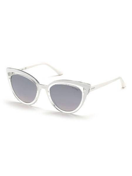 Cat-Eye-Sonnenbrille | Accessoires > Sonnenbrillen > Sonstige Sonnenbrillen | Weiß | Guess