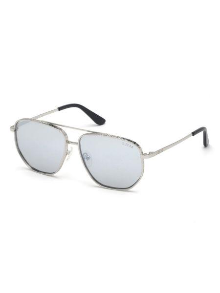 Pilotensonnenbrille   Accessoires > Sonnenbrillen > Pilotenbrille   Silber   Metall   Guess