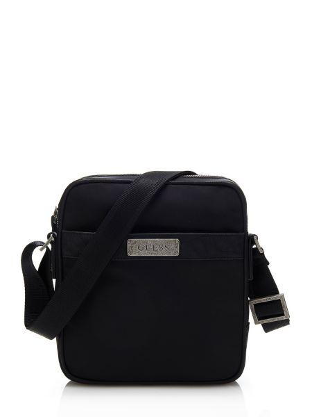Myself nylon top zip crossbody bag.