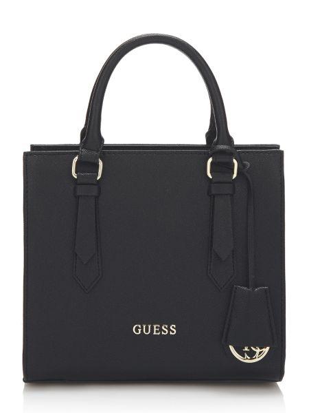 Henkeltasche Charme | Taschen > Handtaschen | Schwarz | Baumwolle | Guess