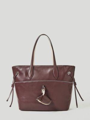 Shopper Cleo Pelle Micro Borchie