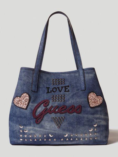 Imagen principal de producto de Shopper Vikky Vaquero Logo - Guess