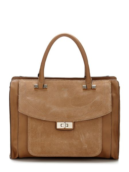 Sac a main kingsley insertion suede