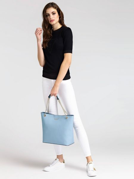 Guess - Shopper Robyn Logo Efecto Saffiano - 2