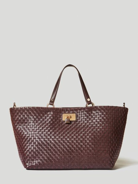 Imagen principal de producto de Shopper Grande Lola Piel Trenzada - Guess