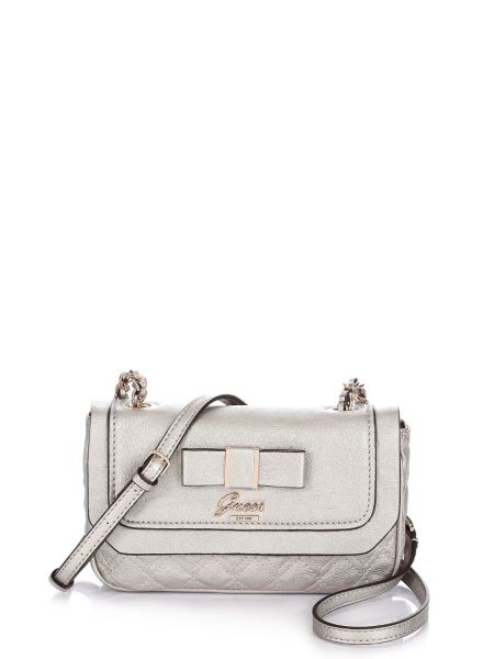 Dolled up petite crossbody chain flap.