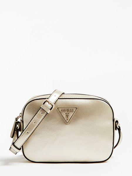 Umhängetasche Carys Logo | Taschen > Handtaschen | Goldenfarbe | Baumwolle | Guess