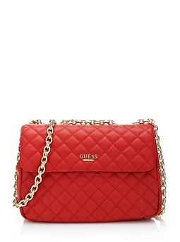Suave Quilted Crossbody Flap Bag