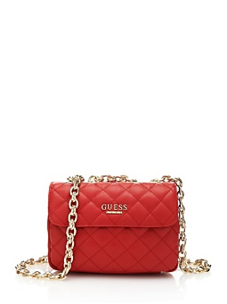 Suave Quilted Crossbody Mini Flap Bag