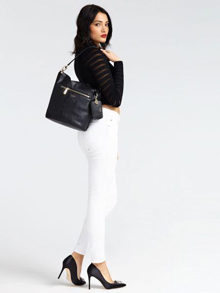 Guess - Talan Hammered-Look Bag - 2