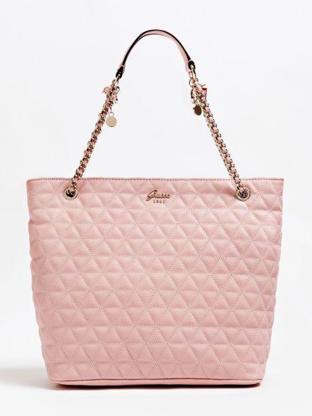 Imagen principal de producto de Shopper Fleur Efecto Acolchado - Guess