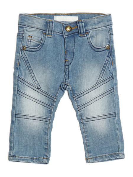 Jeans A Sigaretta Cuciture