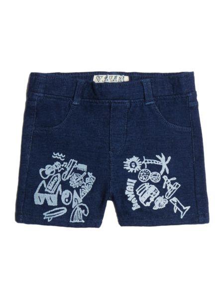 Imagen principal de producto de Shorts Vaqueros Estampado Frontal - Guess