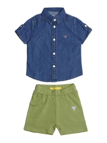 Set Camicia E Shorts