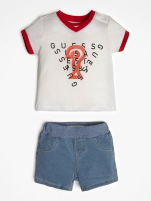 Set T-Shirt E Shorts Denim