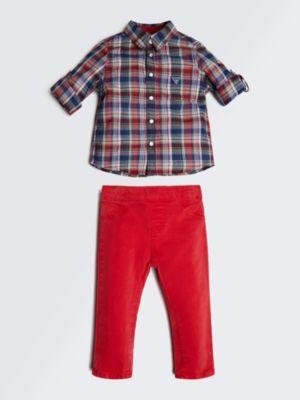 Set Camicia E Pantalone
