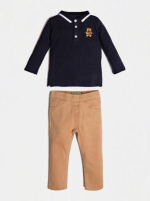 Set Polo E Pantalone