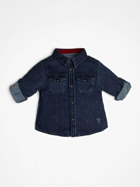 Imagen principal de producto de Camisa Vaquera Estampado Trasero - Guess