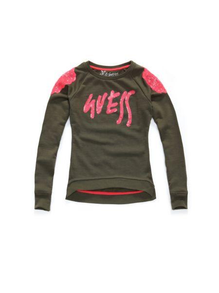 Jersey sweatshirt.