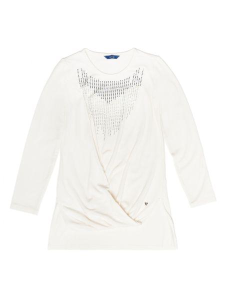 T shirt collier strass