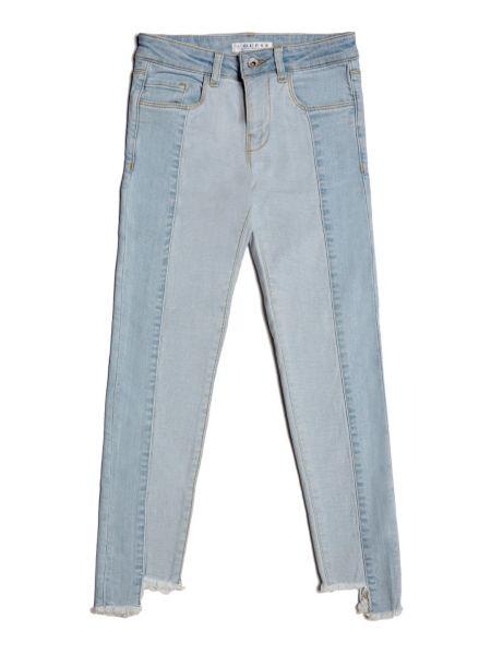 Jeans Bicolor Fondo Asimmetrico