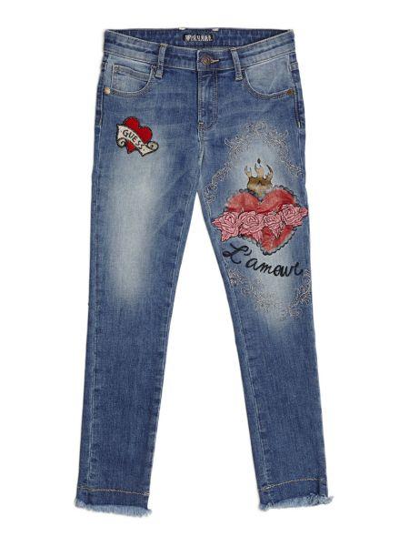 Jeans Applicazioni Frontali