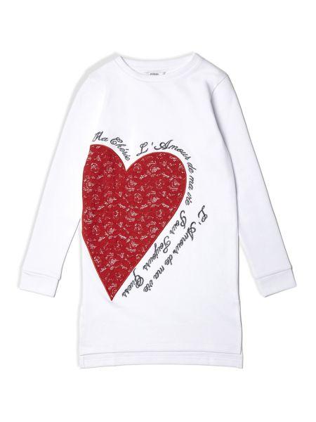 Imagen principal de producto de Vestido Estampado Corazón - Guess