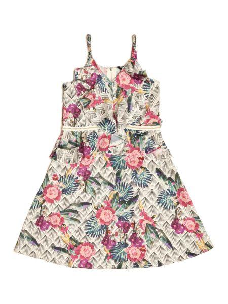 Imagen principal de producto de Vestido Marciano Estampado Flores - Guess