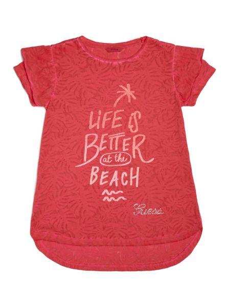 Imagen principal de producto de Camiseta Motivo Hojas Estampado - Guess