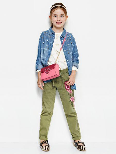 Imagen principal de producto de Pantalón Aplicaciones Flores - Guess