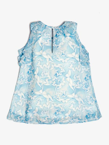 Guess - Top Blumenprint Volants - 2