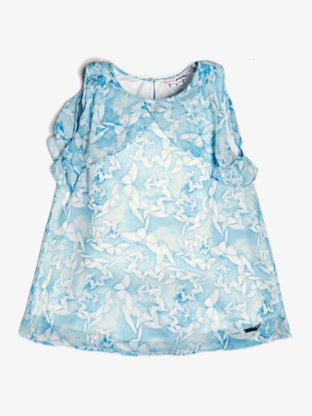 Guess - Top Blumenprint Volants - 1