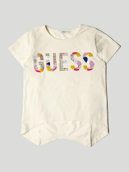 Imagen principal de producto de Camiseta Logo Frontal Aplicaciones - Guess