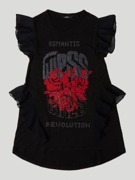 Imagen principal de producto de Camiseta Estampado Frontal Volante - Guess