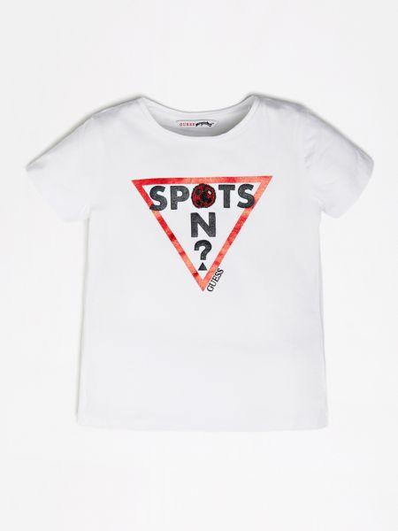 Imagen principal de producto de Camiseta Estampado Frontal Nudo - Guess