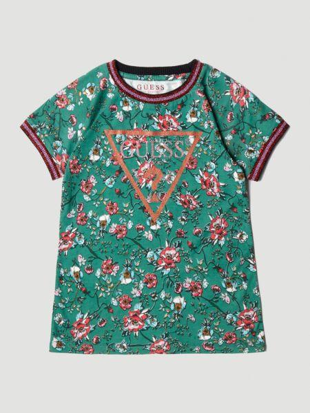 Imagen principal de producto de Camiseta Estampado Flores - Guess