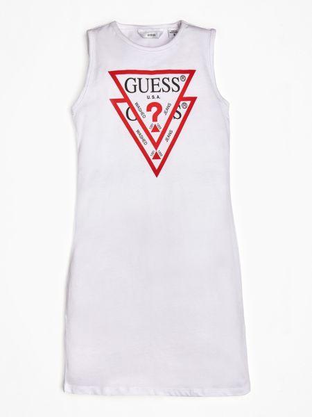 Guess - Kleid Print Logo Vorn - 1