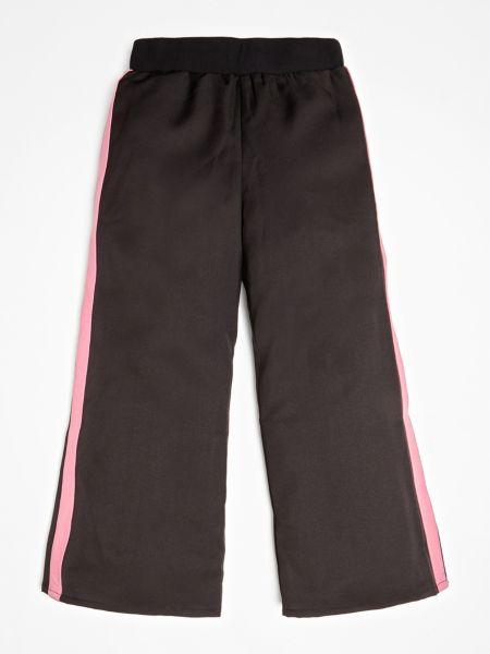 Weite Hose Mit Seitlichen Streifen   Bekleidung > Hosen > Weite Hosen   Schwarz   Guess