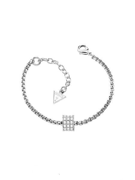 G rounds pave cylinder bracelet.